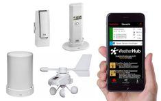 TFA 31.4005.02 WeatherHub SET5 Bezdrôtový Monitor Klímy