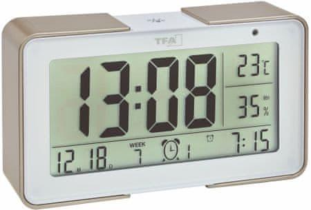 TFA 60,2540,53 digitális ébresztőóra