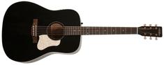 ART&Lutherie Americana Faded Black QIT Elektroakustická kytara