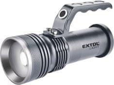 Extol Light Svítilna 300lm, zoom, celokovová