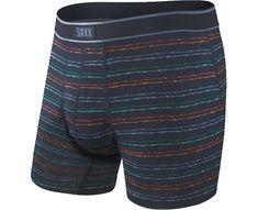 SAXX Pánske boxerky DAYTRIPPER BB FLY navy splatter stripe