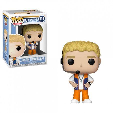 Funko POP! NSYNC figura, Justin Timberlake #111