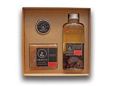 Angelic Darčeková krabička Angelic sprchové olejové cuveé Ruže