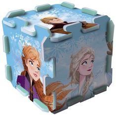 Trefl Penové puzzle 3D Ľadové kráľovstvo II/Frozen II 118x60 cm 8 ks v sáčku