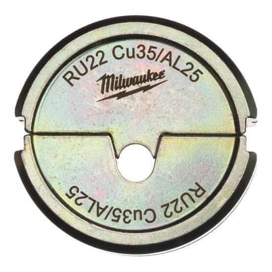 Milwaukee Krimpovacie čeľuste RU22 Cu35/AL25