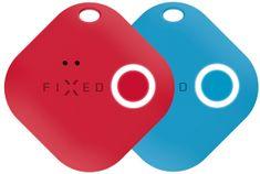 FIXED Smart tracker Smile s motion senzorom, Duo pack - červený + modrý