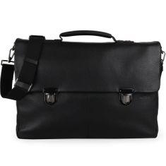 Strellson Pánská kožená taška přes rameno Garret 4010002345
