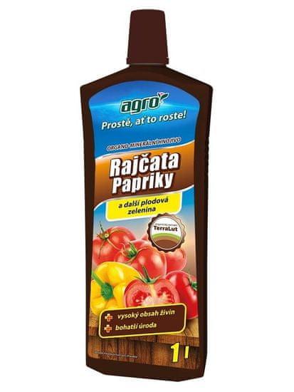 AGRO CS Organo-minerální kapalné hnojivo na rajčata, papriky a okurky 1 l