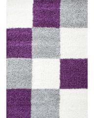 Ayyildiz Kusový koberec Life Shaggy 1501 lila