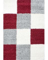 Ayyildiz Kusový koberec Life Shaggy 1501 red