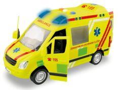 MaDe Ambulance na setrvačník se zvukem