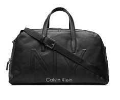 Calvin Klein Duża torba podróżna w kształcie torby podróżnej Black