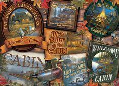 Cobble Hill Puzzle Chatové štítky 1000 dílků