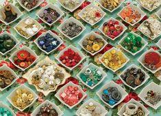 Cobble Hill Puzzle Babiččiny knoflíky 1000 dílků