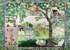 Cobble Hill Puzzle Život na zahradě 1000 dílků