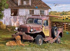 Cobble Hill Puzzle Farmářské auto 1000 dílků