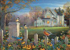 Cobble Hill Puzzle Večerní ptáčci 1000 dílků