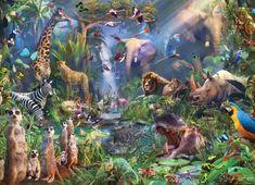 Cobble Hill Puzzle Džungle 1000 dílků