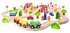 Woody vlak z mostom in postajo, 90 delov