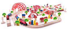 Woody vlak s progo in z glavno železniško postajo, 130 delov