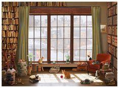 AnaTolian Puzzle Kočky u okna 1000 dílků