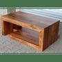2 - LAKŠMI Konferenční stolek Tara 110x45x60 z indického masivu palisandr, Světle medová