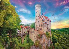 Trefl Lichtenstein Castle, Germany 1 000 dielikov