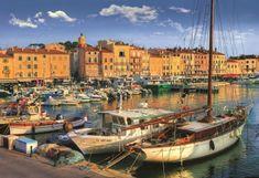 Trefl Puzzle Starý přístav v Saint Tropez 1500 dílků