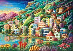 Art puzzle Puzzle Ukrytý přístav 1500 dílků