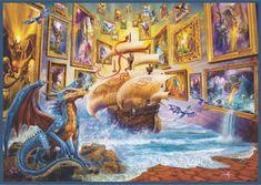 AnaTolian Puzzle Galerie 1500 dílků
