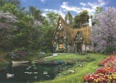 AnaTolian Puzzle Jarní chaloupka u jezera 3000 dílků