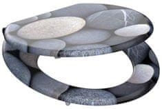 Eisl Wc sedátko Grey stones MDF se zpomalovacím mechanismem SOFT-CLOSE
