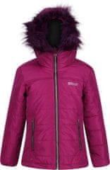 Regatta Dětská zimní prošívaná bunda Regatta WESTHILL BEETROOT fialová
