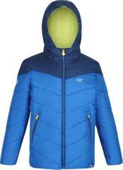 Regatta Detská zimná bunda Regatta Lofthouse III oranžová / modrá