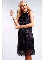 Amando Elegantné čierne šaty 9483