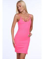 Amando Dámske šaty 40010, ružové