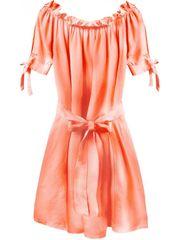 Amando Dámske šaty v španielskom štýle 279ART, neónovo oranžové