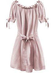 Amando Dámske šaty v španielskom štýle 279ART, ružové