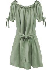 Amando Dámske šaty v španielskom štýle 279ART, khaki