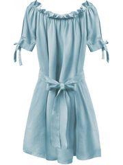 Amando Dámske šaty v španielskom štýle 279ART, svetlo modré