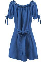 Amando Dámske šaty v španielskom štýle 279ART, modré