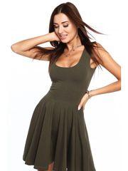 Amando Dámské šaty khaki 4357