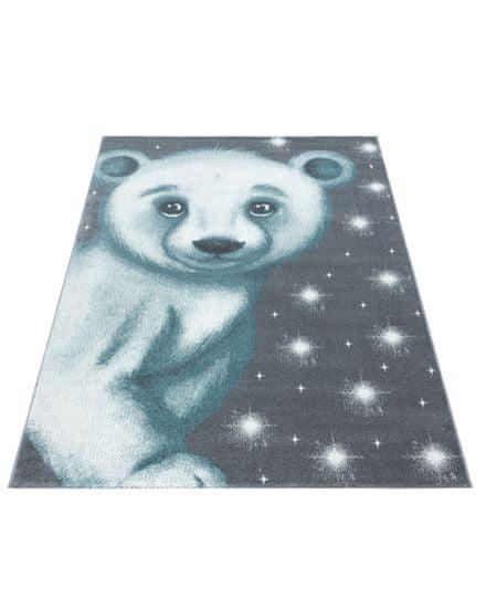 Ayyildiz Kusový koberec Bambi 810 blue 80x150