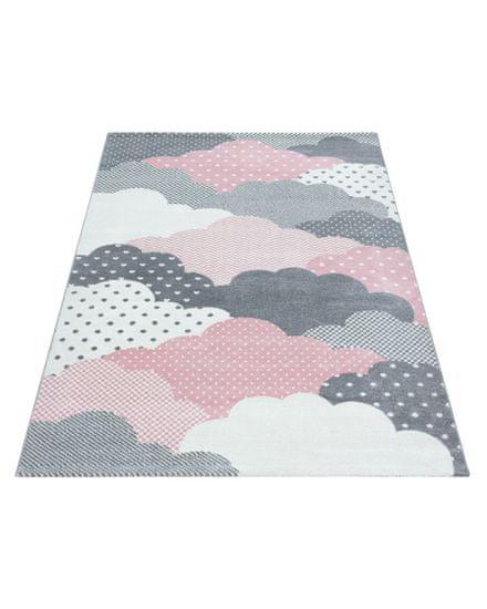 Ayyildiz Kusový koberec Bambi 820 pink 80x150