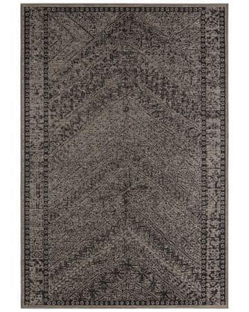 Bougari Kusový koberec Jaffa 104052 Taupe/Brown//Black 70x140
