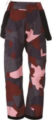 2117 Dětské lyžařské kalhoty 2117 LAMMHULT vínově červená