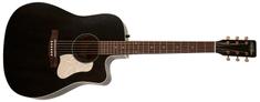 ART&Lutherie Americana Faded Black CW QIT Elektroakustická gitara