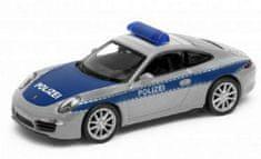 CARRERA Auto Welly policie Porsche 911(991) Carrera12cm