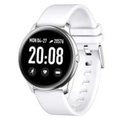 Smartomat Roundband 2, smartwatch (inteligentny zegarek), biały