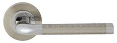 Domino Dveřní dělené rozetové kování MARION-R , M6/M9 - lakovaný chrom/nikl